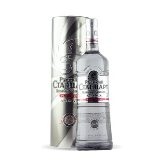 Russian Standard Platinum Vodka 1,0 Liter